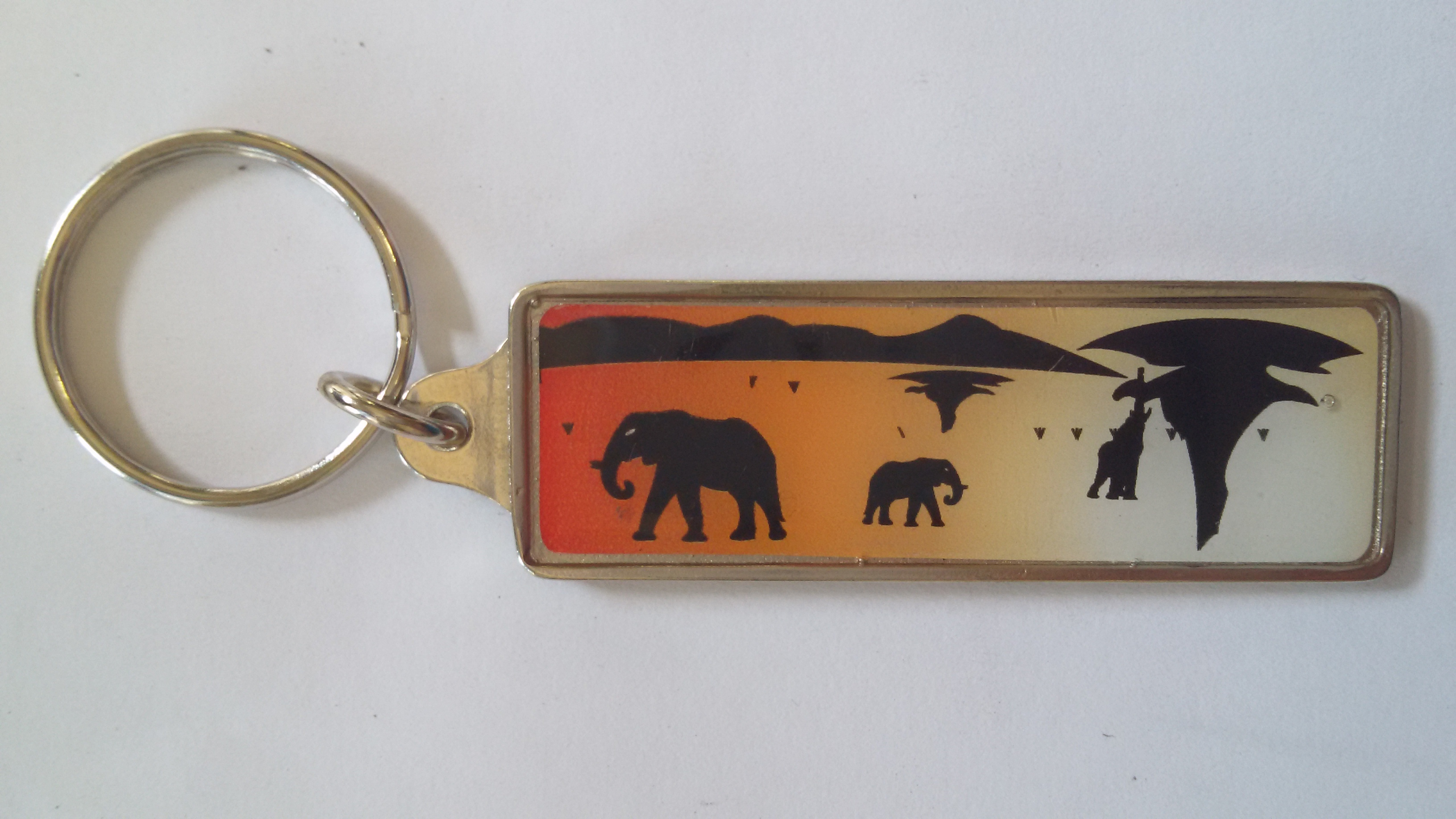 Silhouette Key Rings