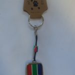 SA Flag Bottle Opener Key Rings