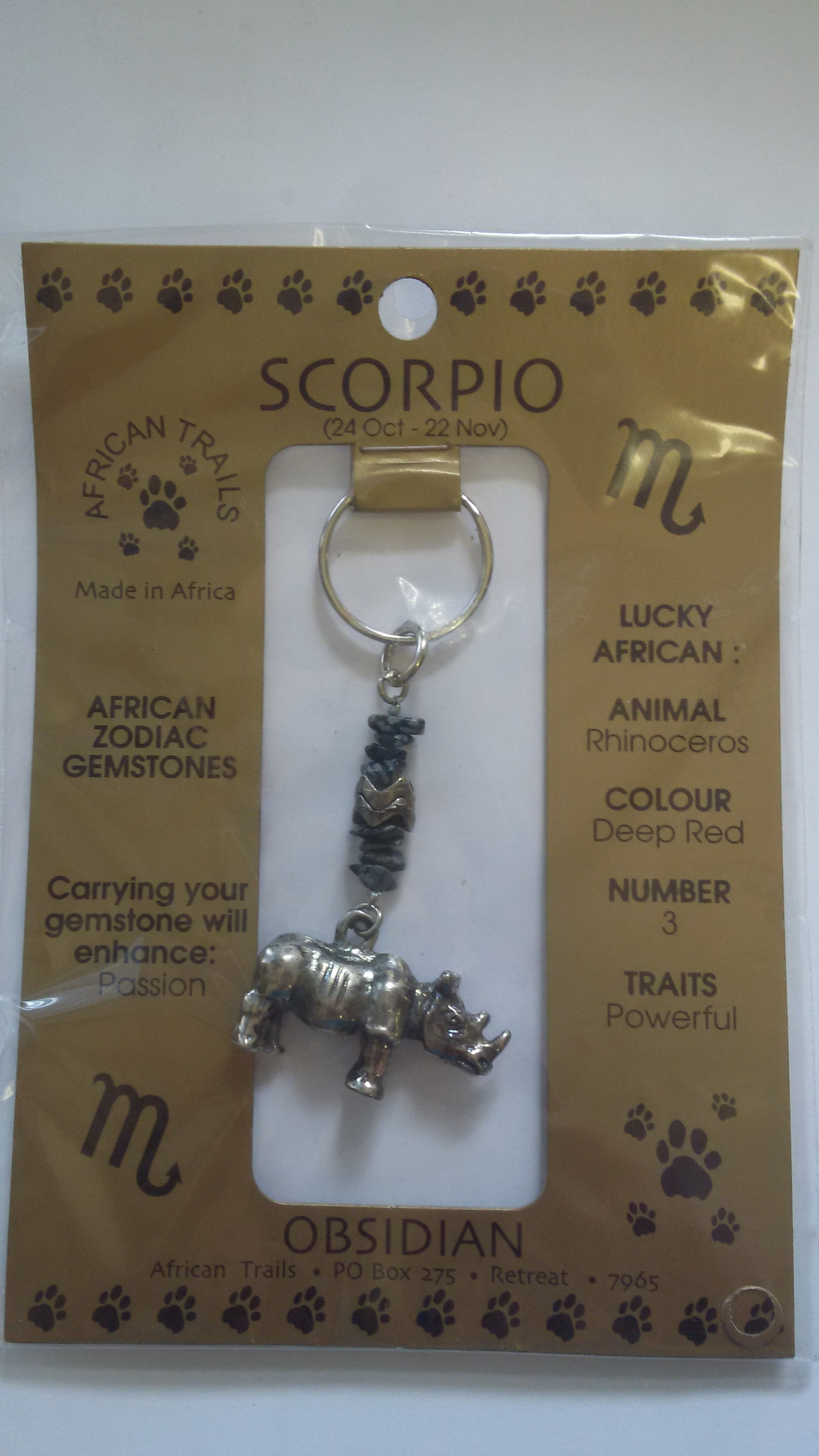 Zodiac Key Rings