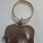 Africa Animal Key Rings