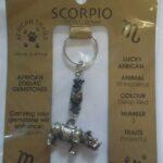 Zodiac Key Rings
