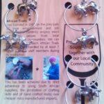 Ring Wine Glass Identifier on Card
